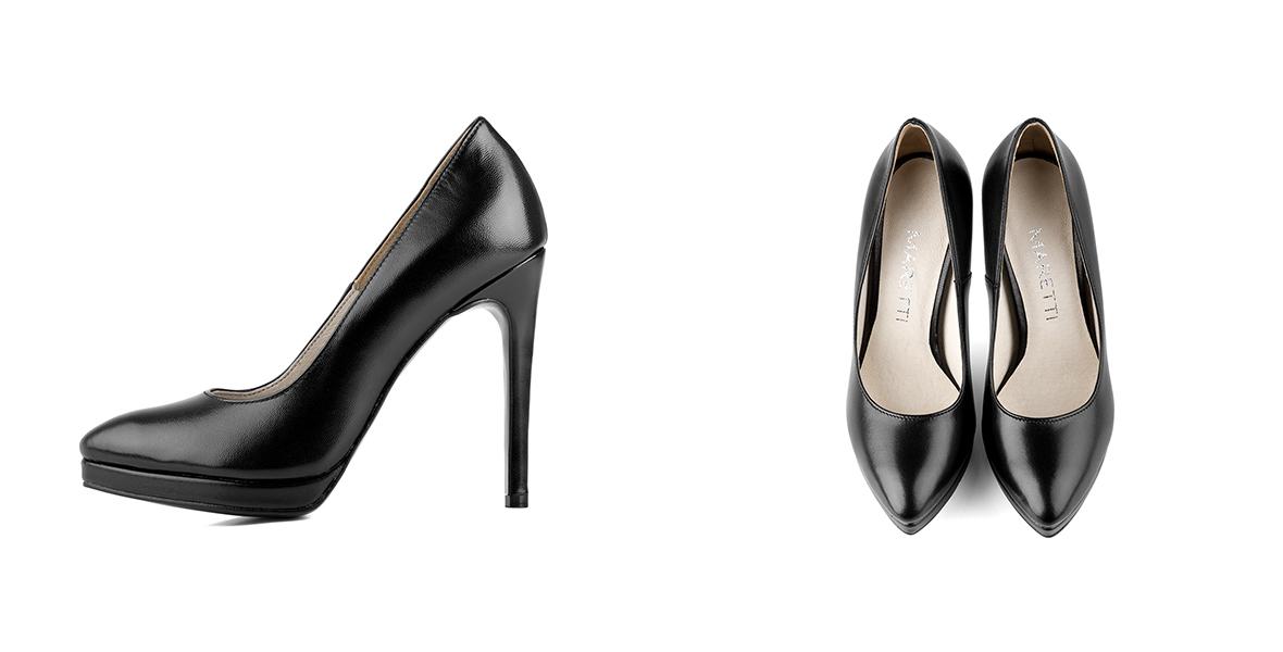 Buty damskie w małych rozmiarach dla kobiet lubiących wysokie obcasy.